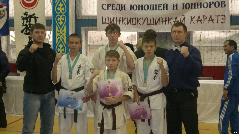 Успехи спортсменов Центра каратэ шинкиокушин на Первенстве РК