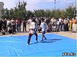 Казакша курес - борьба на поясах