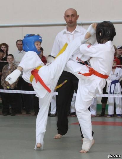 Карате, турнир памяти Литвинова, Усть-Каменогорск, спорт