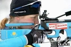 Елена Хрусталёва, казахстан, биатлон, серебрянная медаль, казахстан, олимпиада, ванкувер