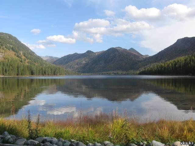Восточный Казахстан, природа, туризм, мёртвое озеро