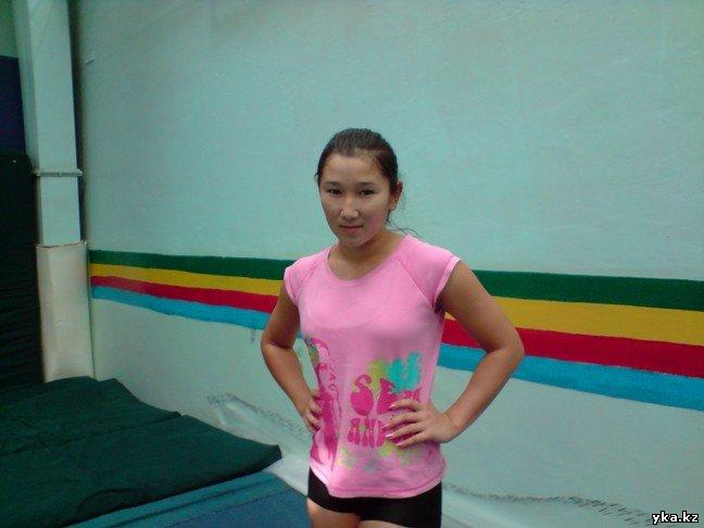 Акробатика - новый мастер спорта из Усть-Каменогорска.