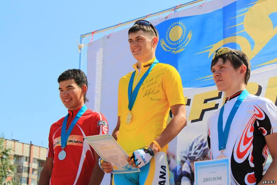 Фото - Школьник Казахстана 2010 - велоспорт - Усть-Каменогорск, победители и призёры соревнований