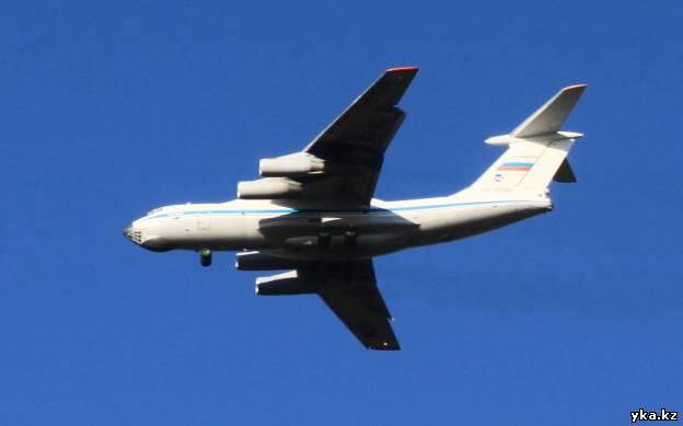 Самолёт над Усть-Каменогорском