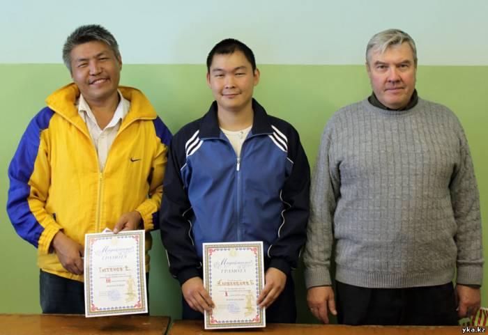 Чемпионы турнира памяти Богдановой среди мужчин, Усть-Каменогорск, шахматный клуб