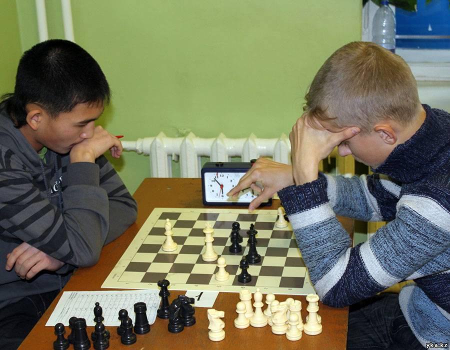 Чемпионат Усть-Каменогорска по шахматам - последняя партия