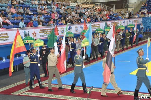 Сегодня в Астане стартовал 35-чемпионата мира по дзюдо среди военнослужащих