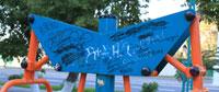 В Усть-Каменогорске арудуют вандалы, фото yka.kz