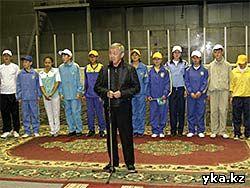 Открытие игр Саулетай в Усть-Каменогорске