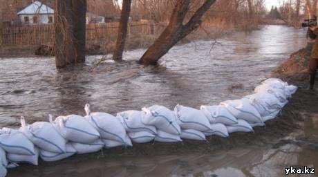 Паводки дошли до Усть-Каменогорска