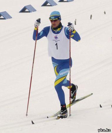 Победой казахстанца Алексея Полторанина завершилась мужская гонка с масс-старта на 30 километров классическим ходом. Фото, Азиада 2011