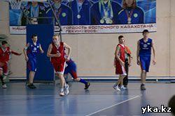 Баскетбол в Усть-Каменогорске